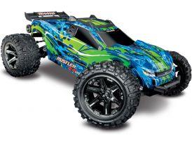 Traxxas Rustler 1:10 VXL 4WD TQi RTR Zöld