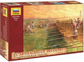 Zvezda figurák - Carthaginian Gyalogság (1:72)