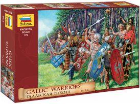 Zvezda figurák - Gaul Warriors (1:72)