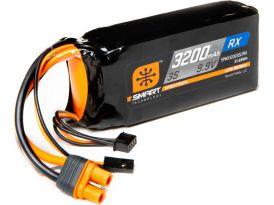 Spectrum Smart LiFe 9.9V 3200mAh Rx IC3