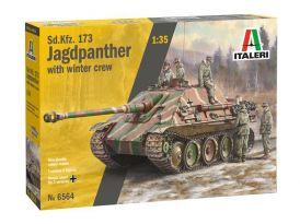 ItaleriSd. Kfz.173 Jagdpanther a legénységgel (1:35)