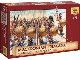 Zvezda darab macedón falang (1:72)