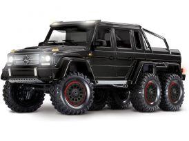 Traxxas TRX 6 Mercedes G 63 6x6 1:10 TQi RTR fekete