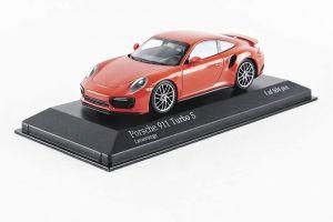Porsche 911 Type 991/2 Turbo S 2017 Orange