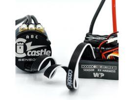 Castle senzorový kabel přímý 25cm