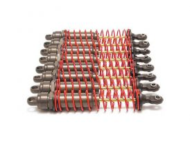 Traxxas Big Bore XX hosszú alumínium / PTFE, TiN dugattyúrúd (8)