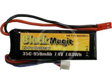 Fekete Magic LiPol 7.4V 950mAh 35C JST