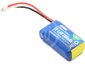 E-flite LiPol 7,4 V 280mAh 30C JST-PH