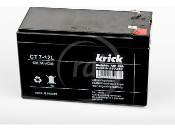 Krick ólom-sav akkumulátor 12V 7Ah