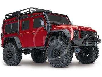 Traxxas TRX-4 Land Rover Defender 01:10 RTR piros TQI