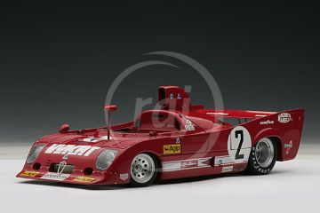 Alfa Romeo 33 TT 12 1000 km MONZA WINNER 1975 Merzario / LAFITTE # 2