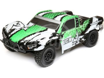 ECX Torment 4WD 1:10 RTR fehér / zöld