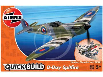 Airfix gyorsépítés - D-Day Spitfire