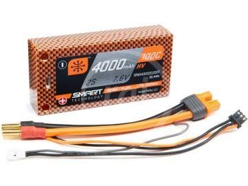Spektrum Smart LiHV 7.6V 4000mAh 100C Short HC