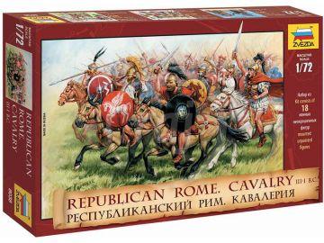 Zvezda figurky - Rep. Rome Cavalry III-I B. C. (re-release) (1:72)