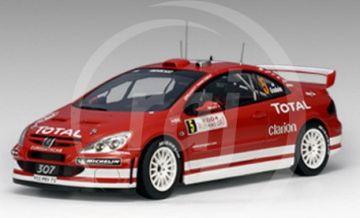 1:18 PEUGEOT 307 WRC 2004 GRONHOLM RMC