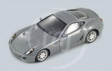 1:43 FERRARI 599 GTB GREY FRANKFURT MOTORSHOW 2007
