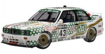 """1:18 BMW M3 DTM 1991 """"TIC-TAC"""" BERG No 43"""